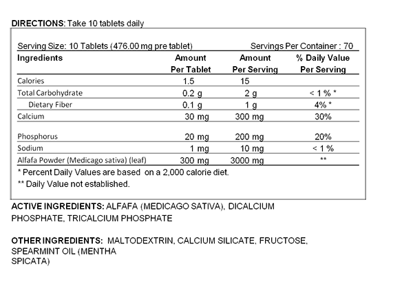 ALFAFA LARGE